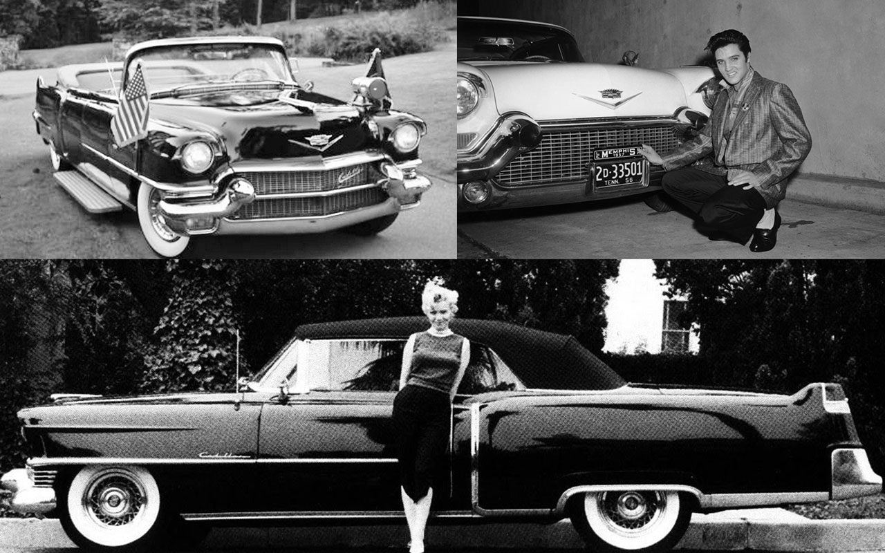 Elvis, Marilyn Monroe and JF Kennedys Cadillac